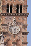 Rome clock tower Royalty Free Stock Photography