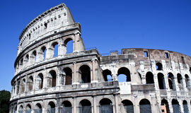 Rome Coliseum. The famous coliseum in Rome, Italy on a sunny day Stock Photo