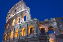 Rome Coliseum close up stock images
