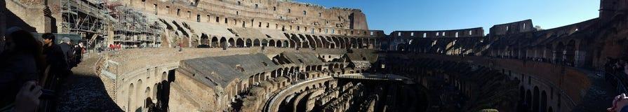 Rome coliseum, gladiator historic place royalty free stock image