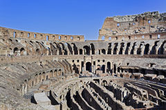 Rome Coliseum Inside Royalty Free Stock Images