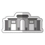 Rome coliseum isolated icon Stock Photo