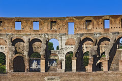 Rome Coliseum Part Day Royalty Free Stock Photo