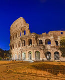 Rome Coliseum Rise Vert Stock Photo