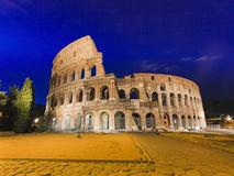 Rome Coliseum Sunrise Royalty Free Stock Photos