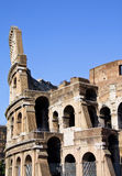 Rome Colisieum. Side on shot of the famous landmark in Rome Royalty Free Stock Photo