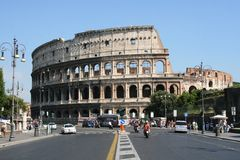 Rome-Colisseum Stock Images