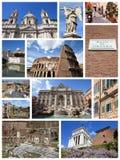 Rome collage Fotografering för Bildbyråer