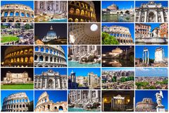 Rome collection Stock Photos