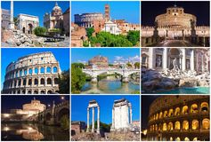 Rome collection Stock Image