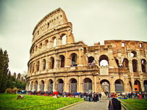 Rome Colloseum. Ancient roman amphitheater Colloseum, Rome Stock Image