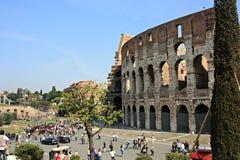 Rome Colloseum Arkivfoto