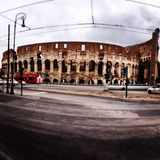 Rome-Colosseo Royaltyfria Bilder