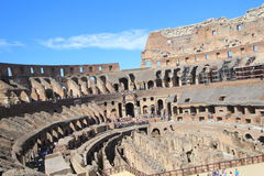 Rome Colosseo, Italien Arkivfoto