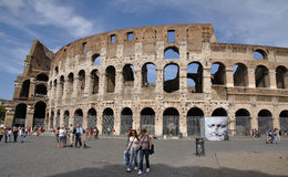 Rome colosseum stock images