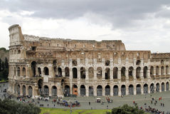Rome colosseum. The big ancient Colloseum in Rome, Italy stock photos