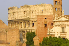 Rome - colosseum. Rome – the greatest and bigest city in europe Royalty Free Stock Images