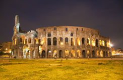 Rome - colosseum. From west in evening Stock Image