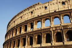 Rome - the Colosseum Royalty Free Stock Photos