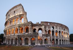 Rome - the Colosseum Royalty Free Stock Image