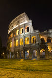 Rome- Colosseum. In night - ruins Royalty Free Stock Images