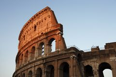 Rome - the Colosseum Stock Photo