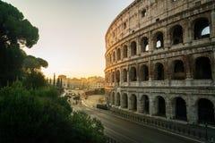 Rome Colosseum au lever de soleil ? Rome, Italie photos libres de droits