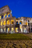 Rome - Colosseum at dusk Royalty Free Stock Photos