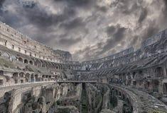 Rome Colosseum inre 03 Royaltyfri Foto