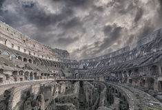Rome Colosseum Interior 03 Royalty Free Stock Photo