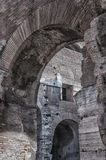 Rome Colosseum Interior arches Royalty Free Stock Photo