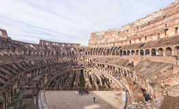 Rome Colosseum Interior pano Royalty Free Stock Image