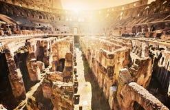 Rome Colosseum, Italië Royalty-vrije Stock Foto's