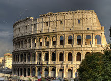 The Rome Colosseum. Rome, Italy Royalty Free Stock Images