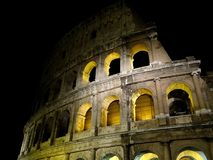 Rome and colosseum by night. Rome Italy and colosseum by night Stock Image