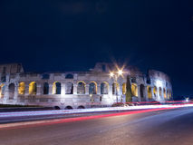 Rome Colosseum par nuit Photo libre de droits