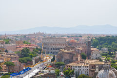 The Rome Colosseum in Rome, Italy Royalty Free Stock Image