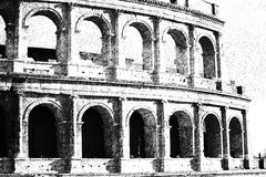 The Rome Colosseum. Stock Photography