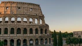 Rome Colosseum Tid schackningsperiod arkivfilmer
