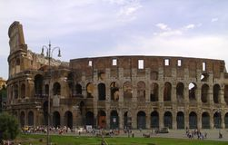 The Rome Colosseum Royalty Free Stock Image