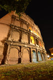 Rome, Colosseum. View on illuminated Colosseum in Rome Royalty Free Stock Image