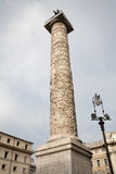 Rome - Column of Marcus Aurelius Stock Photo