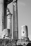 Rome - columns Stock Photo