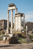 Rome - columns of Forum romanum Royalty Free Stock Image