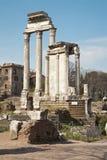 Rome - columns of Forum romanum Royalty Free Stock Image