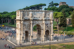 Rome - constantin's arch Royalty Free Stock Photos