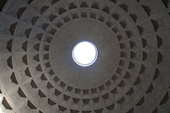 Rome - cupola of Pantheon Royalty Free Stock Photography