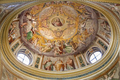 Rome - cupola from Santa Prassede Stock Photography