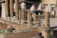 Rome - curia di Pompeo stock photos