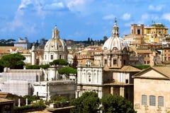 Rome is de eeuwige stad Stock Fotografie